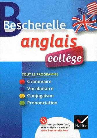 Bescherelle ; Anglais ; College