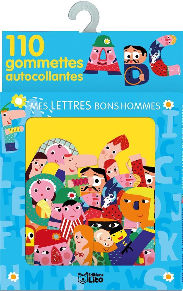 Ma Boite A Gommettes ; Mes Lettres Bonshommes