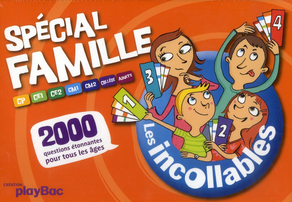 Les Incollables; Boite Special Famille (Edition 2012)