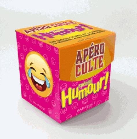 Mini-boîte apéro culte ; spécial humour