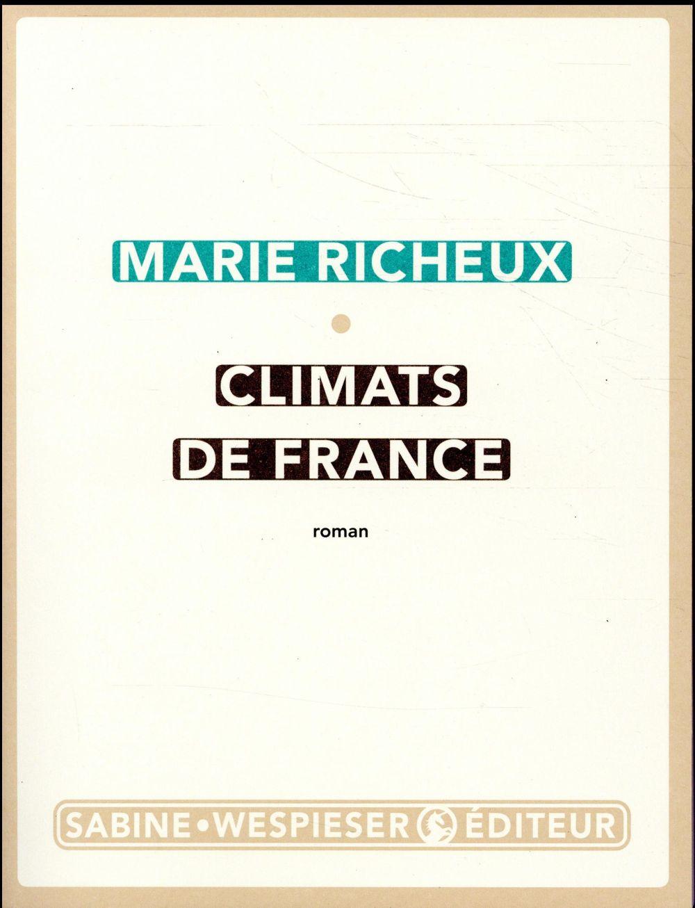CLIMATS DE FRANCE