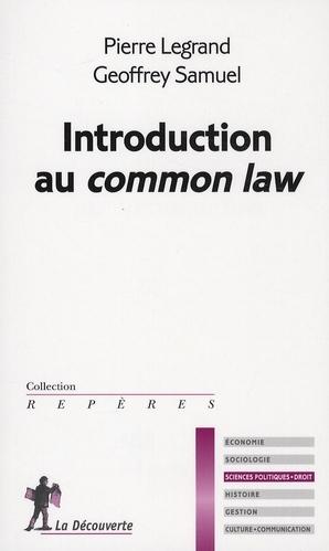 Introduction Au Common Law