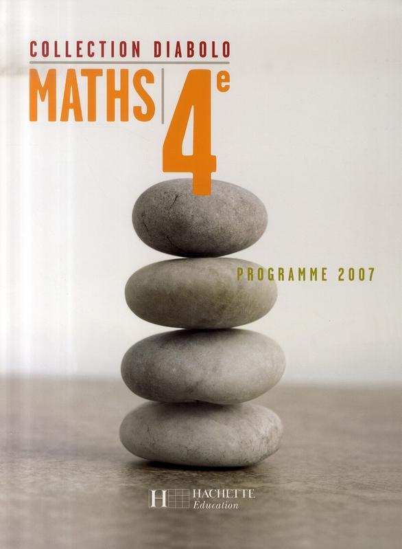 Diabolo; Mathematiques ; 4eme ; Livre De L'Eleve ; Edition 2007