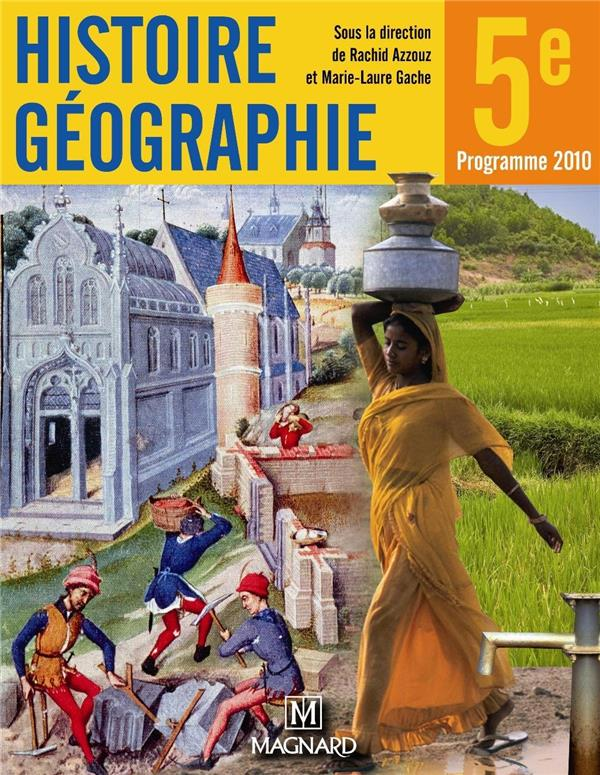 Histoire Geographie 5e Grand Format