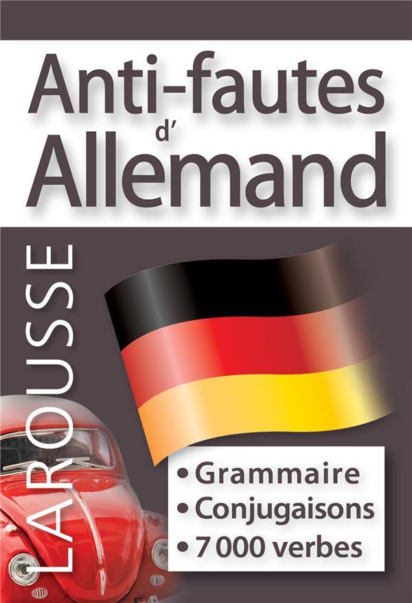 Anti-fautes d'allemand