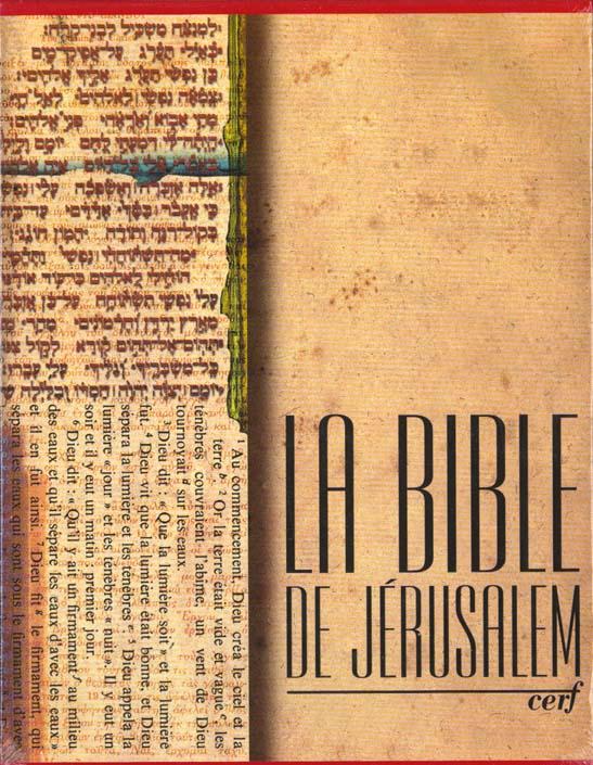 La Bible De Jerusalem : Rouge