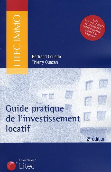 Guide Pratique De L'Investissement Locatif 2e Edition A Jourde La Loi N 2006-872 Du 13 Juillet 2006