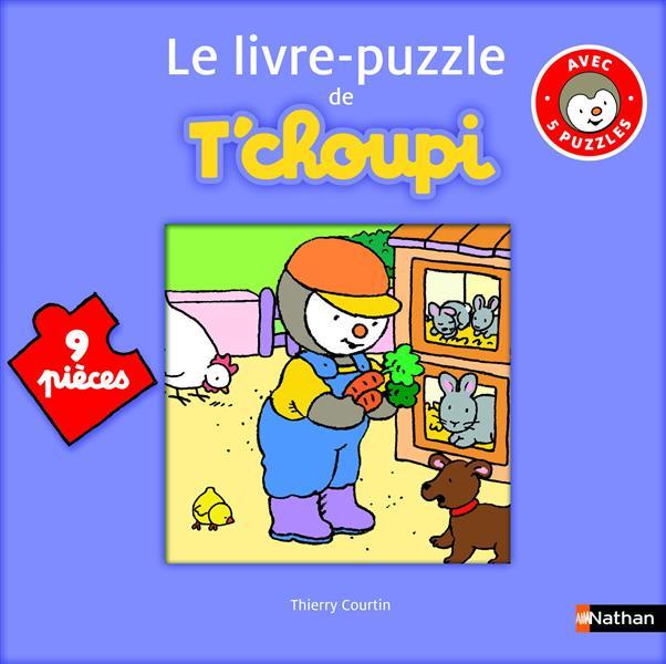 Livre Puzzle T'Choupi ; 9 Pieces