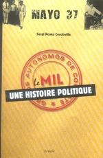Couverture de Mayo 37 ; une histoire politique