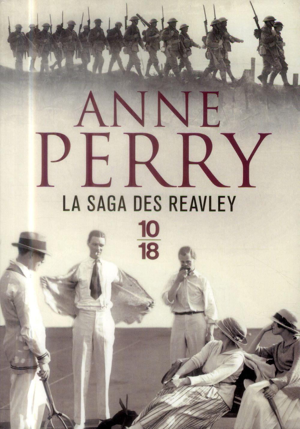 saga des Reavley (La)   Perry, Anne. Auteur