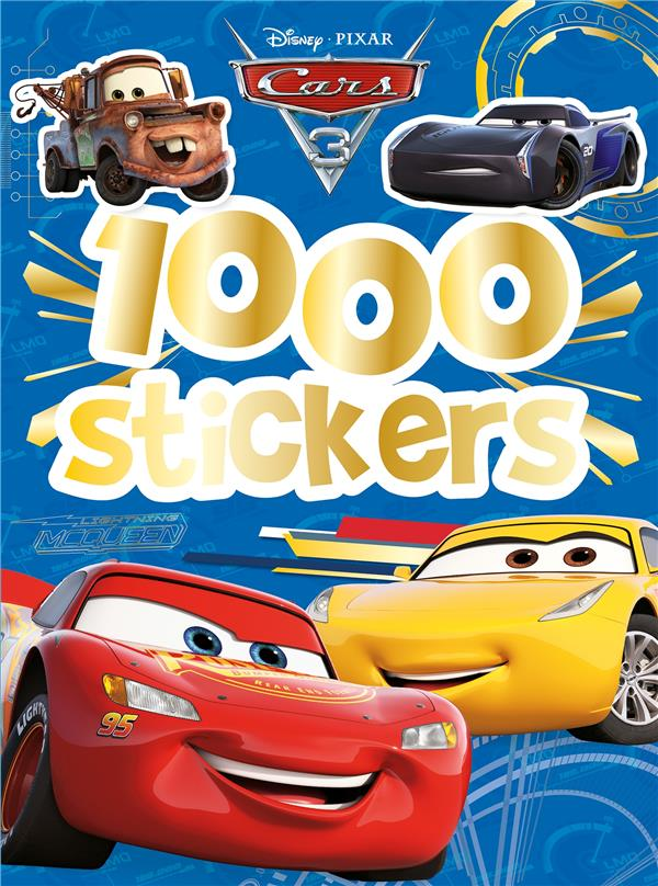 1000 stickers ; Cars 3