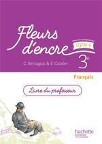 Fleurs D Encre Francais 3e Cycle 4 Livre Du Professeur