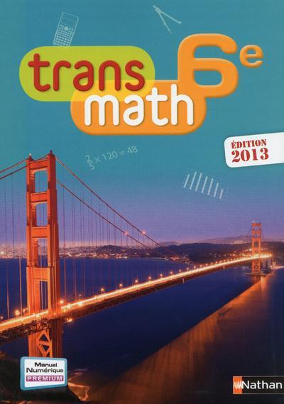 Transmath; 6e ; Grand Format (Edition 2013)