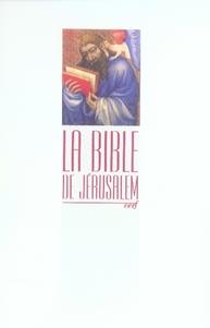Bible De Jerusalem 10 X 16 Brochee