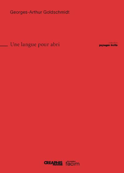 UNE LANGUE POUR ABRI