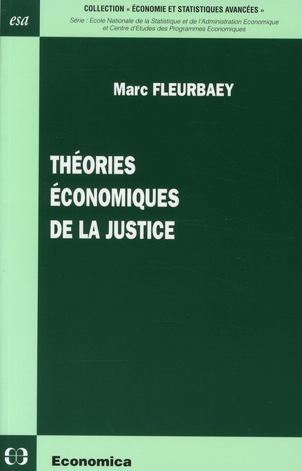 Theories Economiques De La Justice