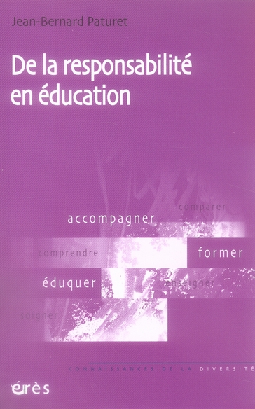De La Responsabilite En Education