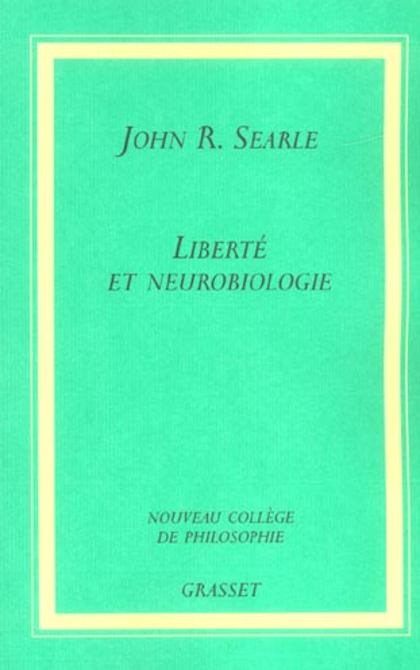 LIBERTE ET NEUROBIOLOGIE