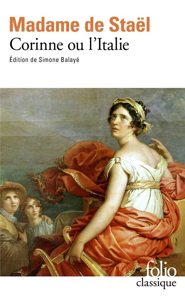 CORINNE OU L'ITALIE   PREF S.BALAYE