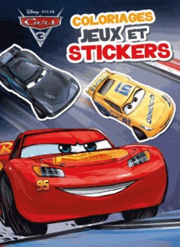 Cars 3 ; colos, jeux et stickers
