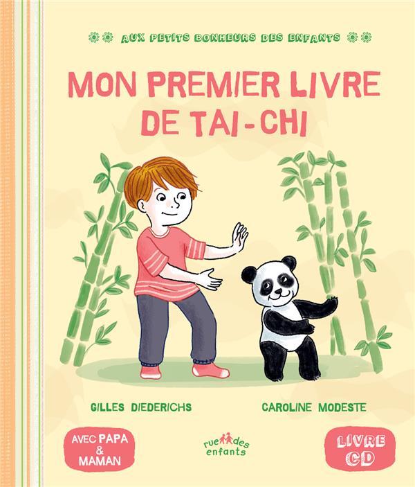 Mon premier livre de taï-chi | Diederichs, Gilles. Auteur