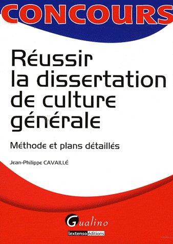 Reussir La Dissertation De Culture Generale