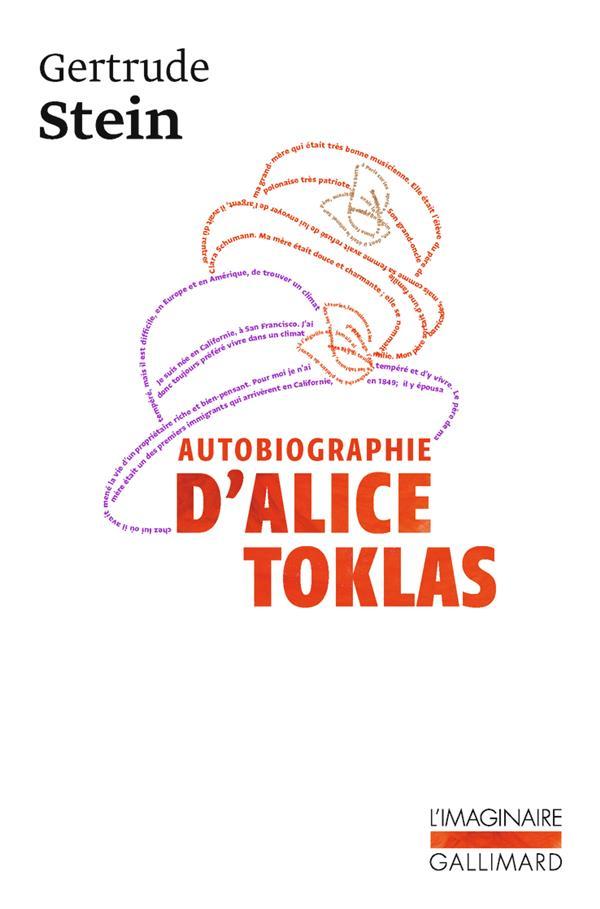 AUTOBIOGRAPHIE D'ALICE B.TOKLAS