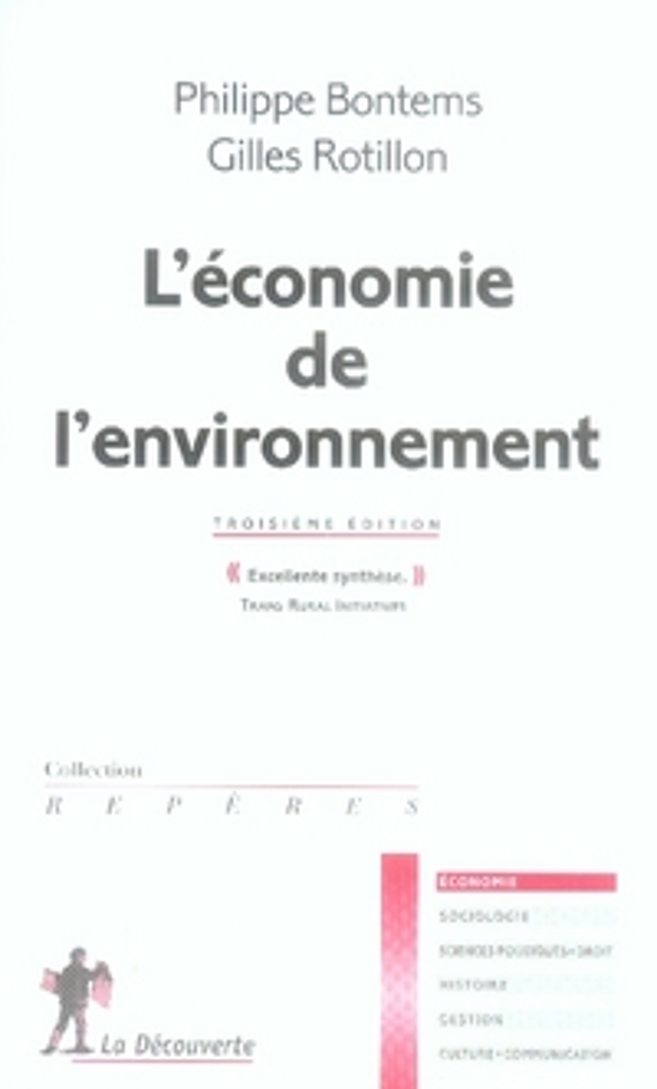 L'Economie De L'Environnement