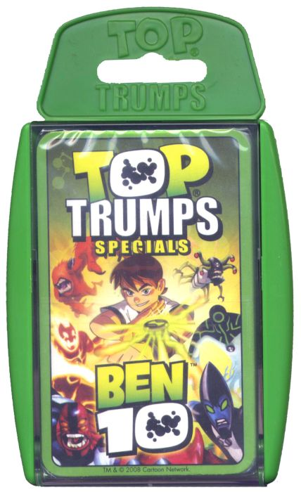 Ben 10 Top Trumps (12) Carte A Jouer