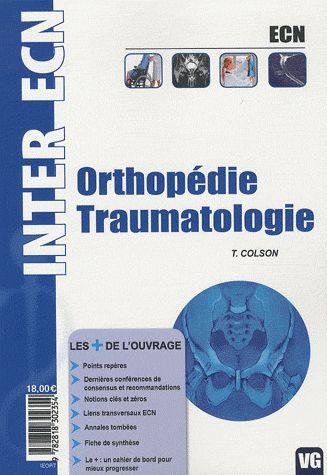 Inter Ecn Orthopedie Traumatologie