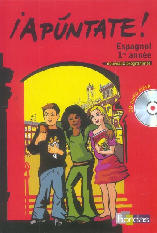 Apuntate Manuel + Cd Audio 1ere Annee 2006 Eleve