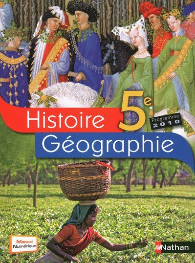 Histoire-Geographie 5e Grand Format 2010