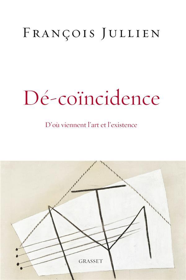 Dé-coïncidence ; d'où viennent l'art et l'existence