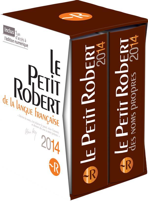 Le Petit Robert ; Coffret (Edition 2014)