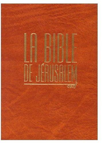 La Bible De Jerusalem Compacte Integra Orange