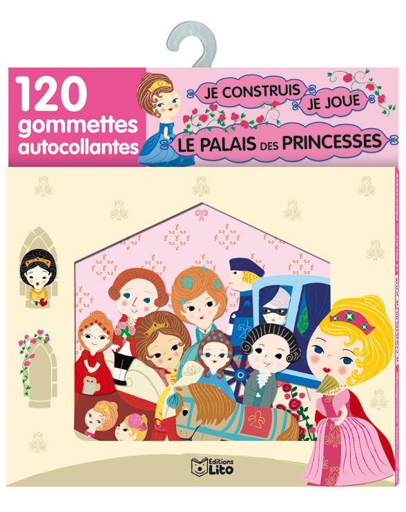 Je Construis, Je Joue Avec Les Gommettes ; Palais Princesses