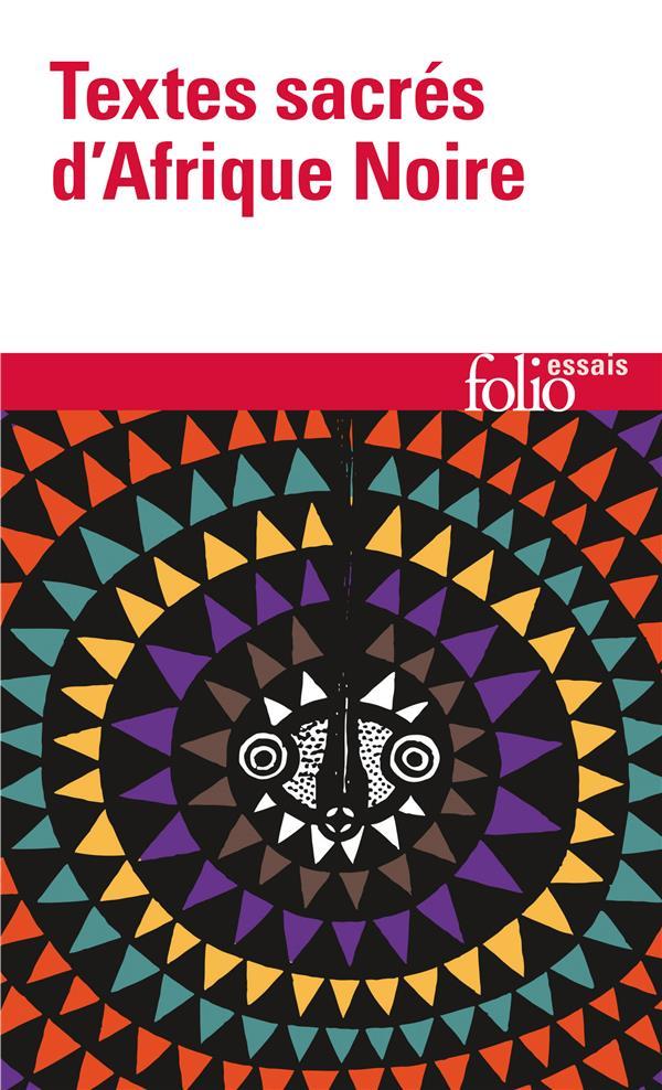 Textes Sacres D'Afrique Noire