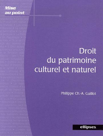 Droit Du Patrimoine Culturel Et Naturel