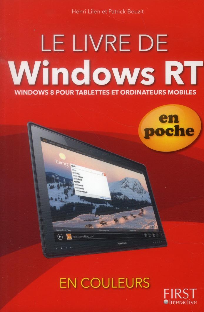 Le Livre De Windows 8 Pour Tablettes ; En Poche