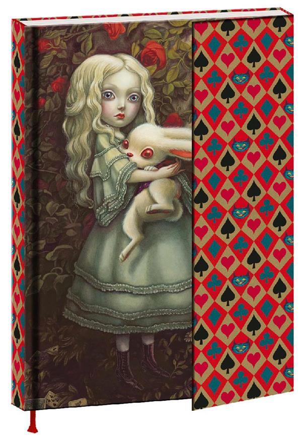 Alice au pays des merveilles ; carnet
