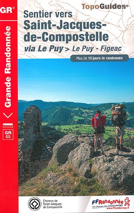 Sentier vers saint-jacques-de-compostelle ; via le puy > le puy - figeac
