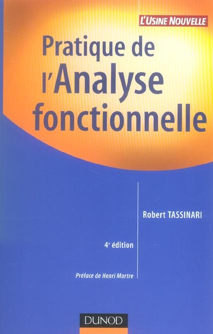 Pratique De L'Analyse Fonctionnelle - 4eme Edition