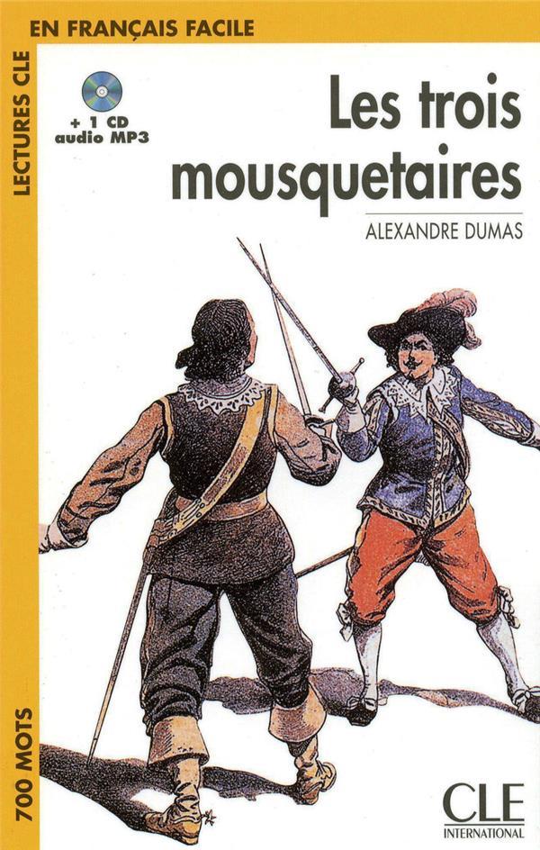Les Trois Mousquetaires + 1 Cd Audio Mp3
