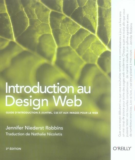 Introduction A Design Web 3e Edition