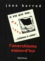 Couverture de L'anarchisme aujourd'hui