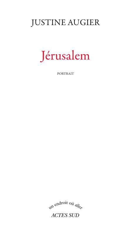 Jerusalem ; Portrait