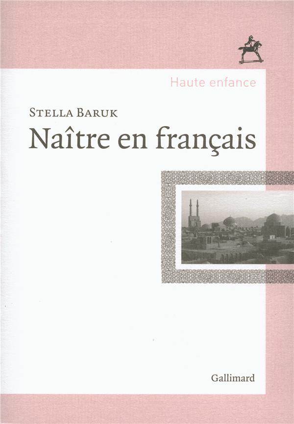 NAITRE EN FRANCAIS