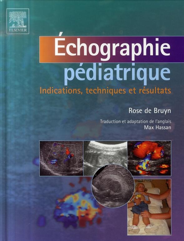 Echographie Pediatrique