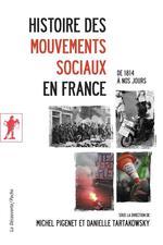 Couverture de Histoire des mouvements sociaux en France (de 1814 à nos jours)