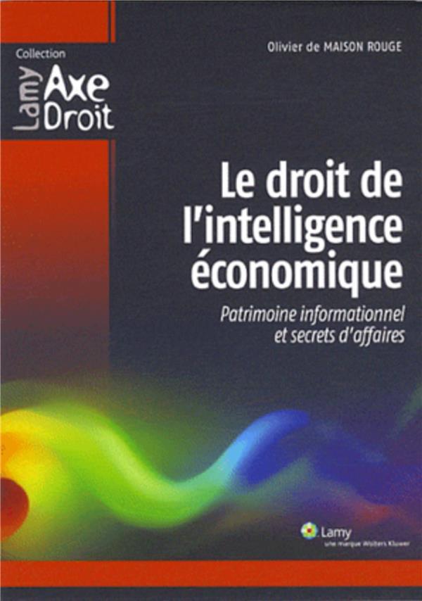 Le Droit De L'Intelligence Economique